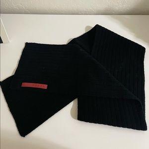 Authentic PRADA ribbed scarf